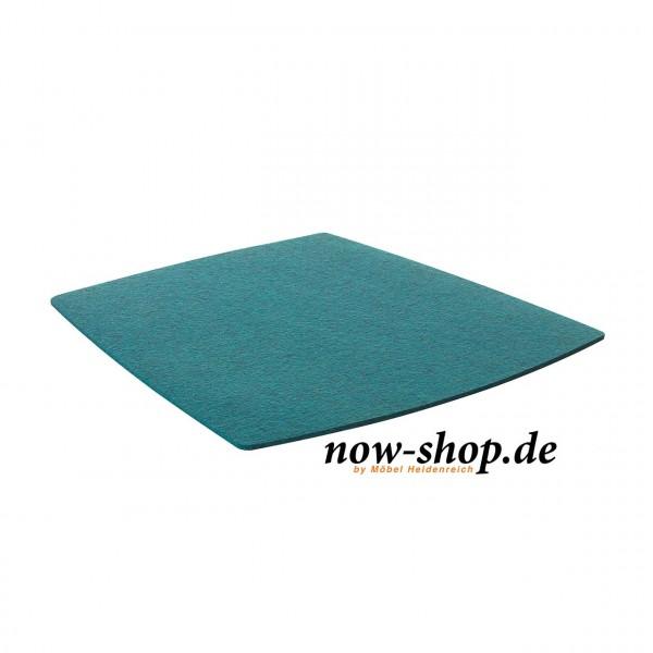 now! by hülsta – Filzauflage für S20 Stühle – petrol